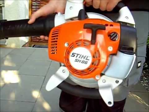 STIHL SH 86-D Saughäcksler