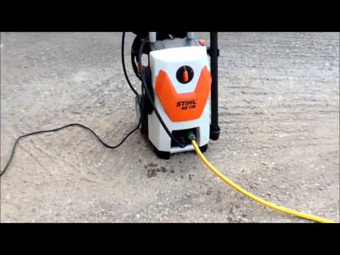 STIHL RE 119 UNBOXING