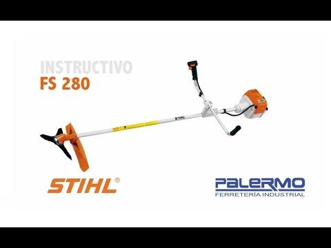 Instructivo / Tutorial de motoguadaña STIHL FS 280 – Ferreteria Palermo