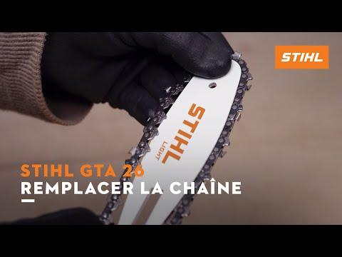 Remplacer la chaîne – STIHL GTA 26
