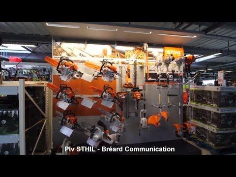 Stihl France : Publicité sur Lieu de Vente (PLV) – Bréard Communication