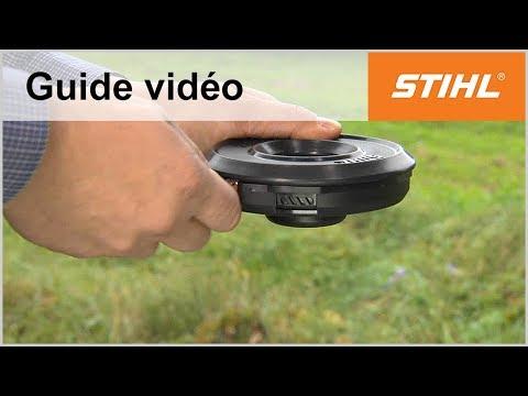 Remplacer le fil de coupe – FixCut C 25-2 – Coupe-bordures STIHL