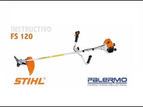 Instructivo / Tutorial de motoguadaña STIHL FS 120 – Ferreteria Palermo