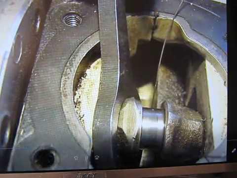 remontage roulement aiguilles tète  de bielle STIHL 010 AV tronçonneuse