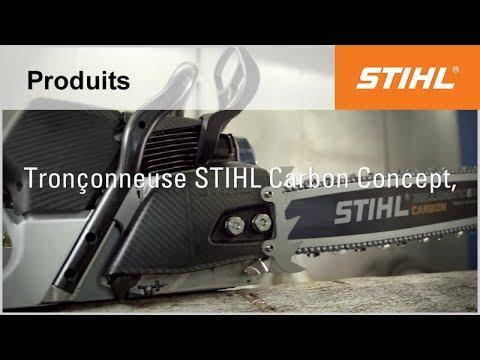 Innovation : Tronçonneuse STIHL Carbon Concept