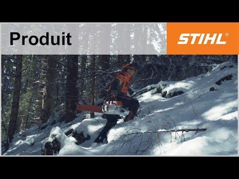 La tronçonneuse STIHL MS 462 testée dans les Alpes autrichiennes
