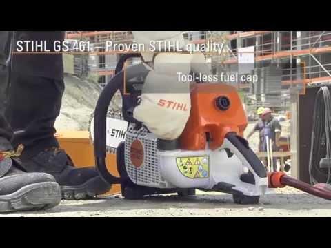 Tronçonneuse à pierre STIHL GS 461