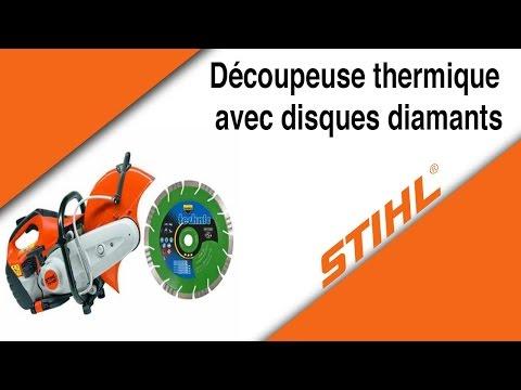Découpeuse thermique STIHL