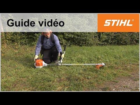 Démarrer une débroussailleuse FS 240 ou FS 260 – Coupe-bordures STIHL