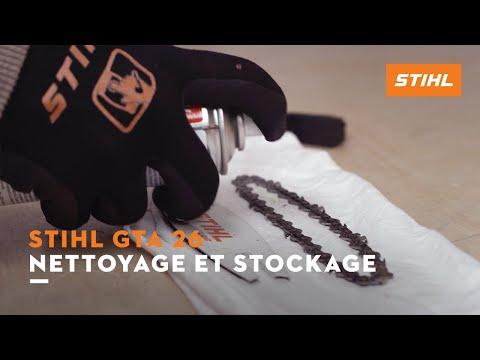 Nettoyage et stockage – STIHL GTA 26