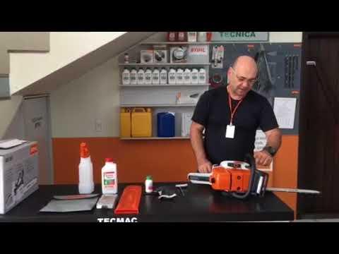 Funcionamento Motosserra Stihl MS 361 – Máquina Profissional