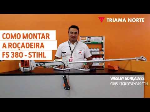 COMO MONTAR A ROÇADEIRA FS 380 – STIHL