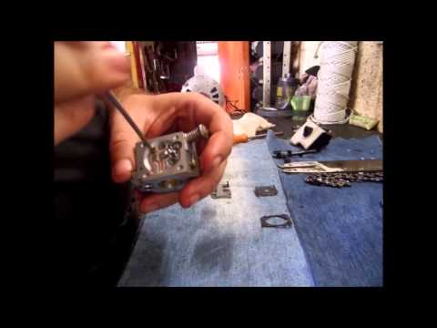 Motosserra Stihl MS 170 – 3/3 – Limpeza do Carburador e Finalização