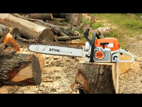How To | Replace The Bar And Chain On A Stihl Chainsaw