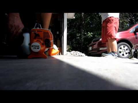 Stihl FS 38 – First use!
