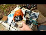 Stihl FS130 Fuel Line Filter Change Out