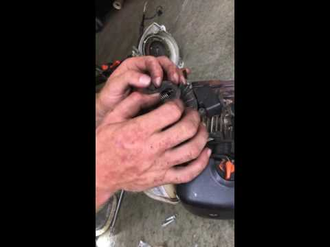 Stihl trimmer clutch replacement