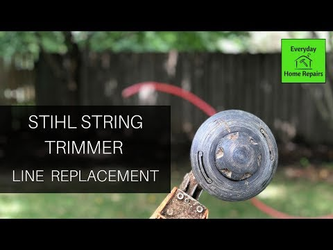 Replacing Line in a Stihl Weed Eater