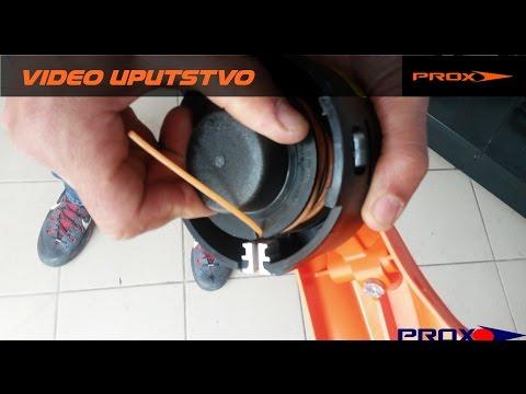 Montiranje silka na trimer STIHL FS 55 AutoCut 25-2 glava — Mounting trimmer line on STIHL —