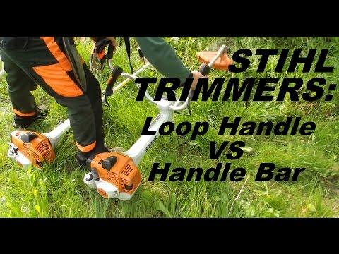 Stihl Trimmer: Loop Handle VS Handle Bar