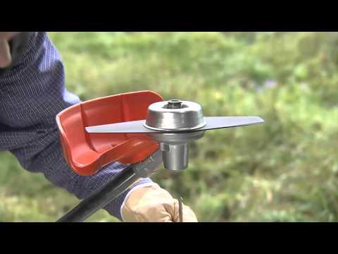 STIHL – Aprende a montar el disco cortahierbas de 230 mm