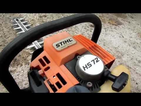 stihl weedeater130 HS72 Hedge trim 007