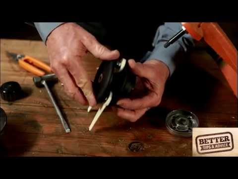 STIHL Better Tips: How to replace a PolyCut blade on a STIHL grass trimmer