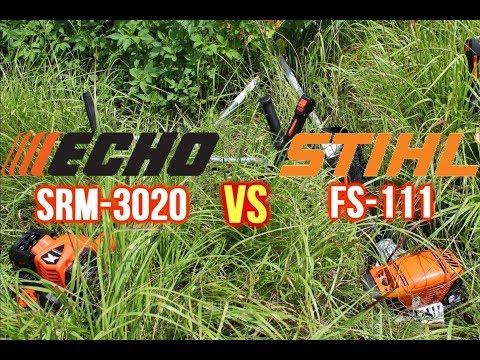 ECHO SRM-3020 vs. STIHL FS-111