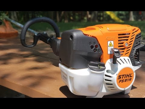 #214 Do You Need A Professional Series Trimmer For Your Property? Stihl FS 91 R