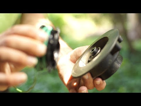 STIHL Trimmer Line Replacement (Bump Feed)