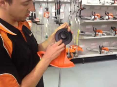 How to refill a STIHL FS38 Auto Cut 11-2