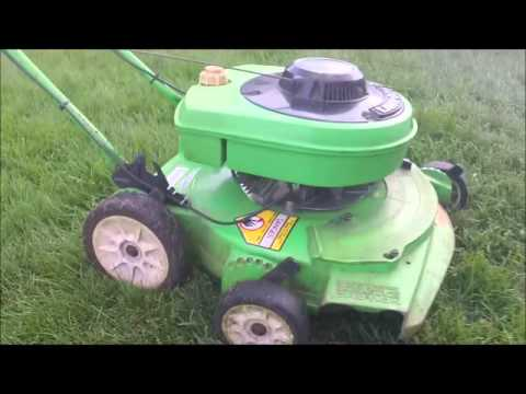 2000 Lawnboy 10401C, Stihl FS 70 And BR420 In Action