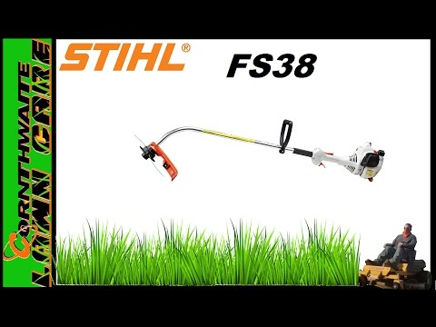Stihl FS38 Review || Residential curved shaft string trimmer Lawntrepreneur