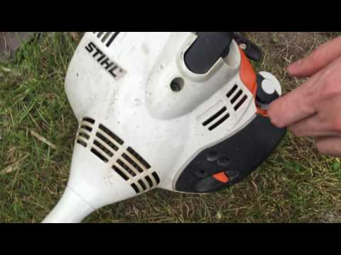 How to run and operate Grass Trimmer Stihl FS 40
