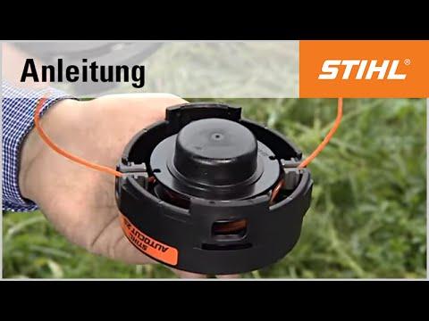 Das Befüllen des Mähkopfs STIHL AutoCut 25-2