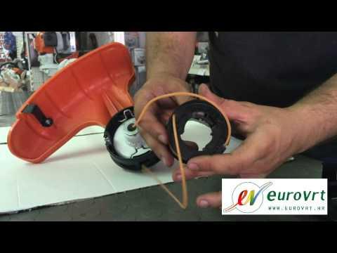 Namatanje niti (flaksa) na automatsku glavu Stihl Supercut 20-2 i 40-2 motorne kose (trimera)