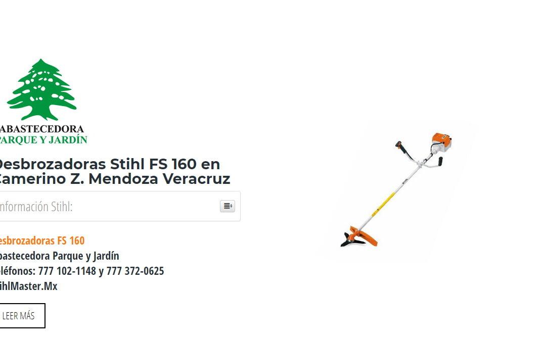 Desbrozadoras Stihl FS 160 en Camerino Z. Mendoza Veracruz