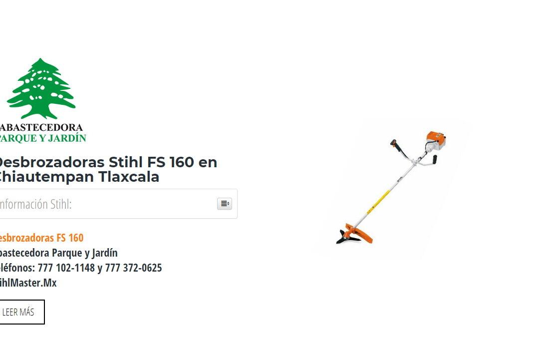 Desbrozadoras Stihl FS 160 en Chiautempan Tlaxcala
