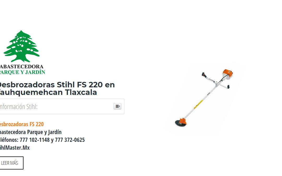 Desbrozadoras Stihl FS 220 en Yauhquemehcan Tlaxcala