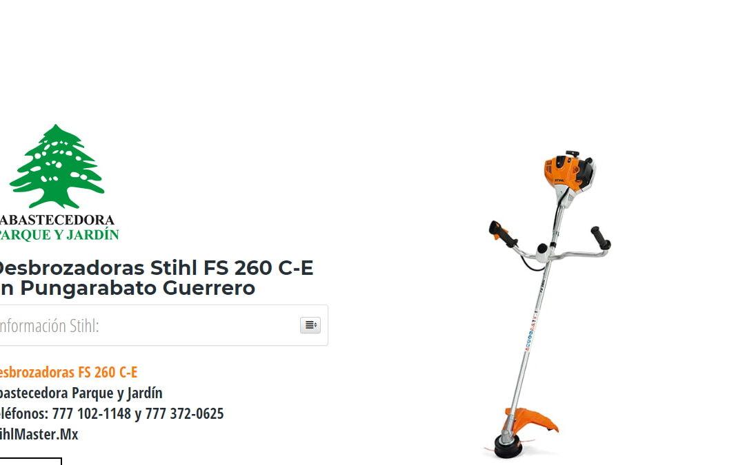 Desbrozadoras Stihl FS 260 C-E en Pungarabato Guerrero