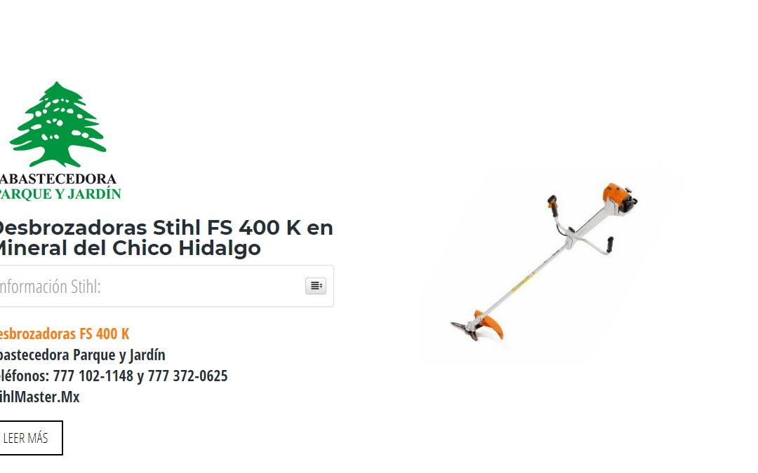 Desbrozadoras Stihl FS 400 K en Mineral del Chico Hidalgo