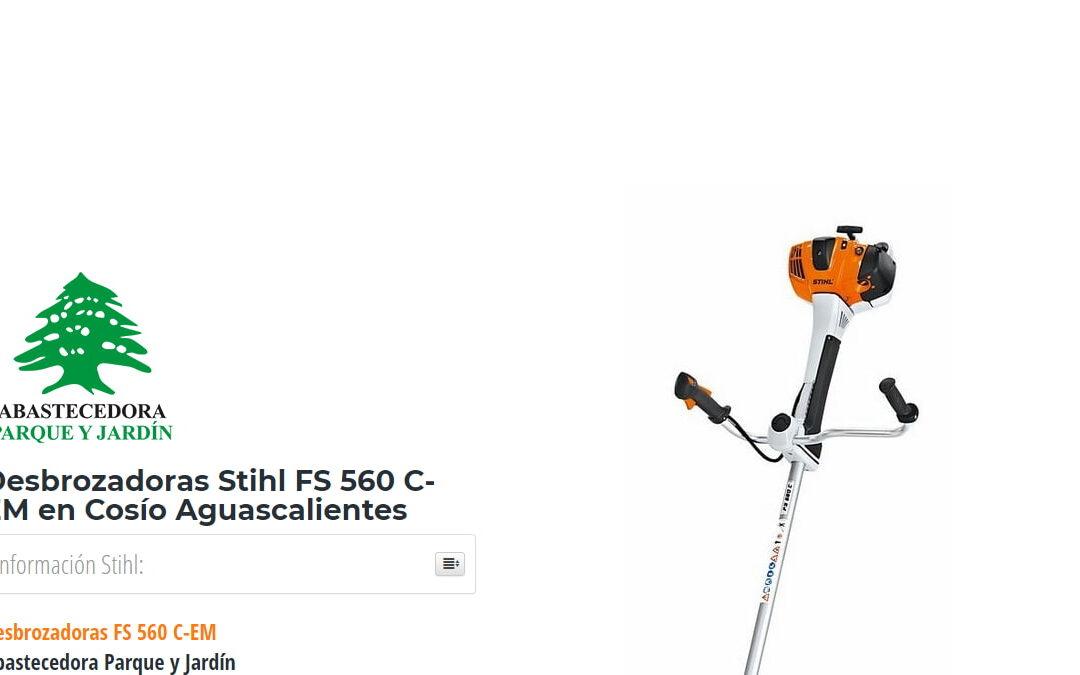 Desbrozadoras Stihl FS 560 C-EM en Cosío Aguascalientes