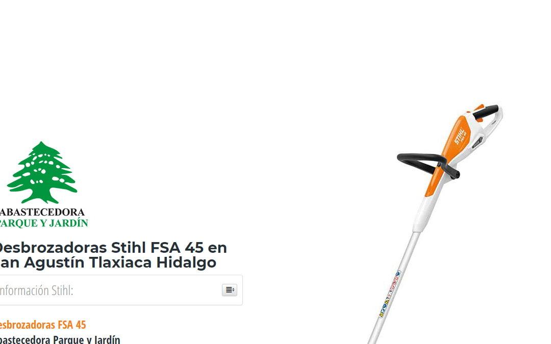 Desbrozadoras Stihl FSA 45 en San Agustín Tlaxiaca Hidalgo