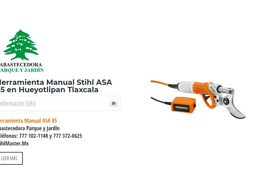 Herramienta Manual Stihl ASA 85 en Hueyotlipan Tlaxcala