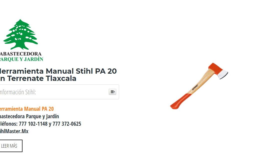 Herramienta Manual Stihl PA 20 en Terrenate Tlaxcala