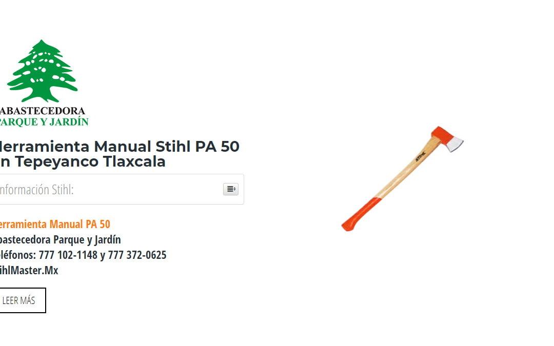 Herramienta Manual Stihl PA 50 en Tepeyanco Tlaxcala