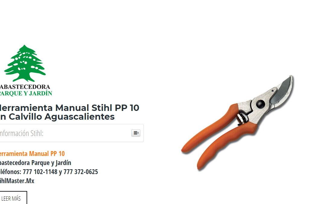 Herramienta Manual Stihl PP10 en Calvillo Aguascalientes