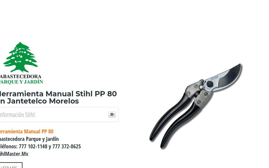 Herramienta Manual Stihl PP80 en Jantetelco Morelos