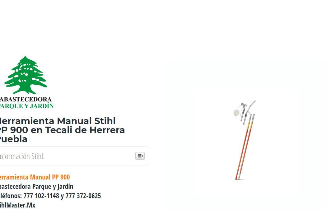 Herramienta Manual Stihl PP900 en Tecali de Herrera Puebla