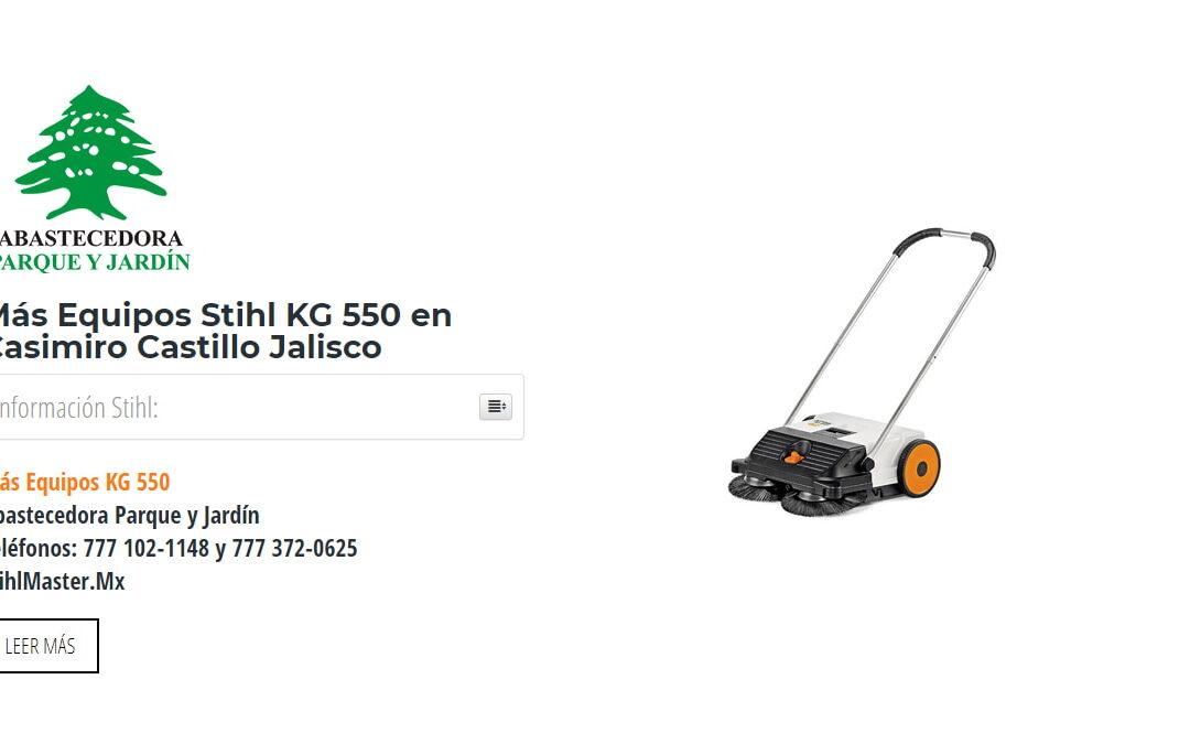 Más Equipos Stihl KG 550 en Casimiro Castillo Jalisco